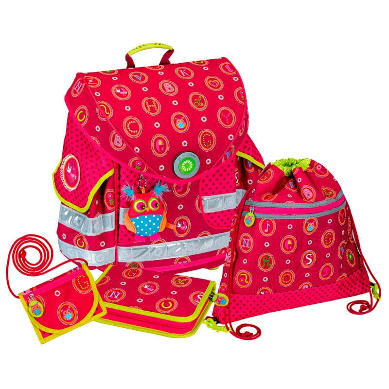 Рюкзаки и ранцы Spiegelburg Школьный ранец ABC Ergo Style+ с наполнением школьные рюкзаки spiegelburg школьный ранец pferdefreunde ergo style plus с наполнением 10572