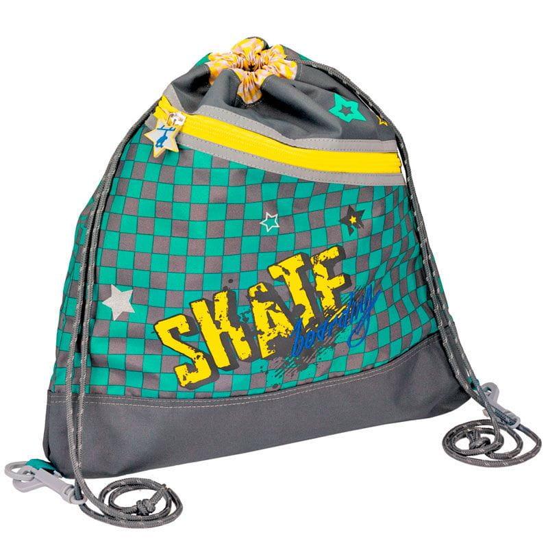 Рюкзаки и ранцы Spiegelburg Мешок для обуви Skateboarding shdede white 65