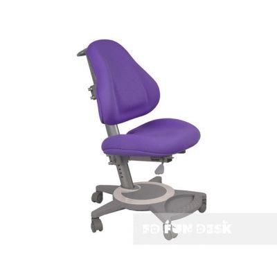 Комплект FunDesk Парта-трансформер Volare с креслом Bravo и прозрачной накладкой на парту 65х45