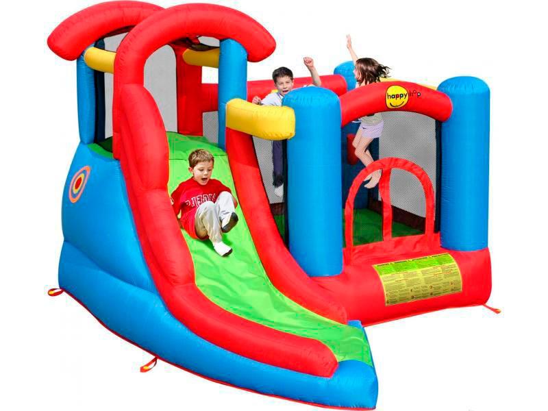 Надувной батут Веселый малыш 6 в 1 9371 надувной батут вокруг света 9070n happy hop