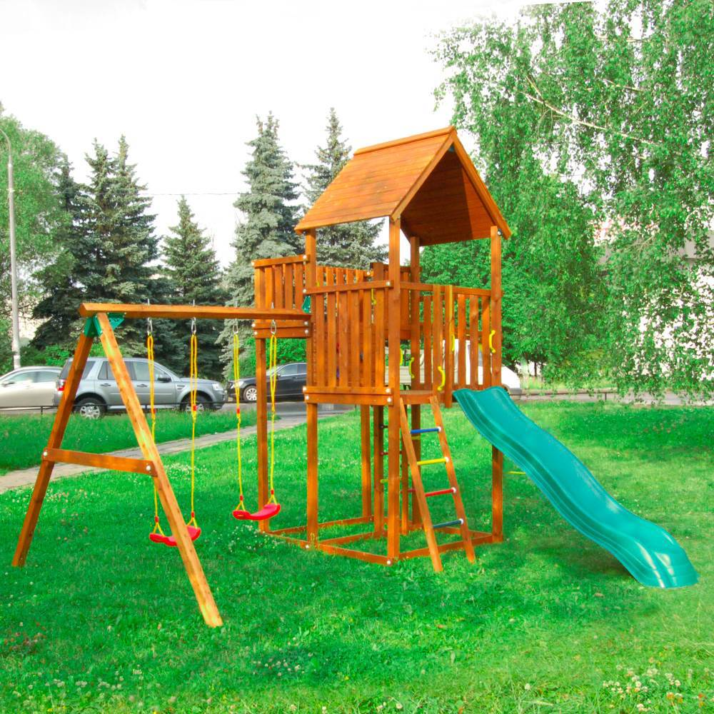 Детский городок Jungle Palace + Swing X'tra детский городок jungle cottage
