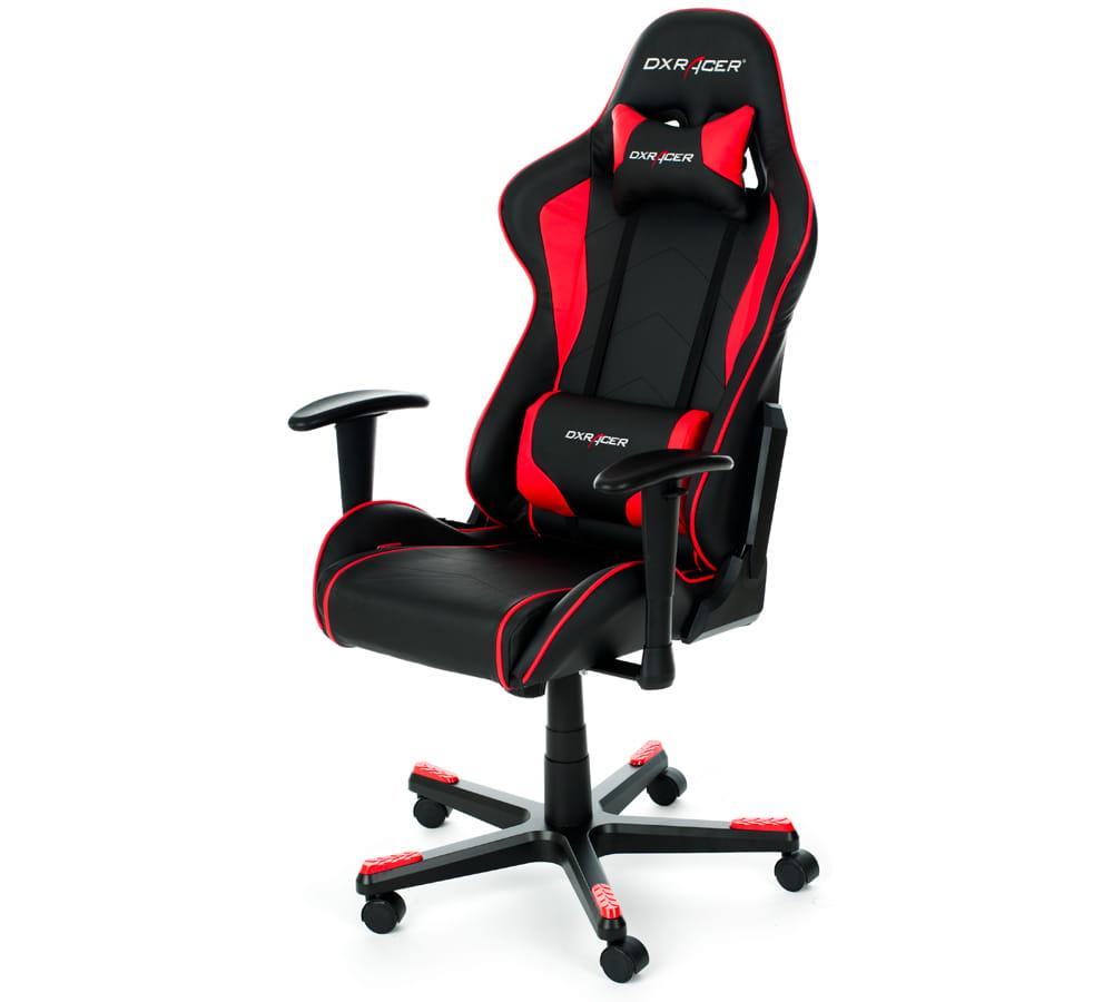 Геймерское кресло DXRacer F-серия OH/FE08 Высокопрочный пластик Черно-красный Черный кресло игровое dxracer dxracer drifting oh dj133 n