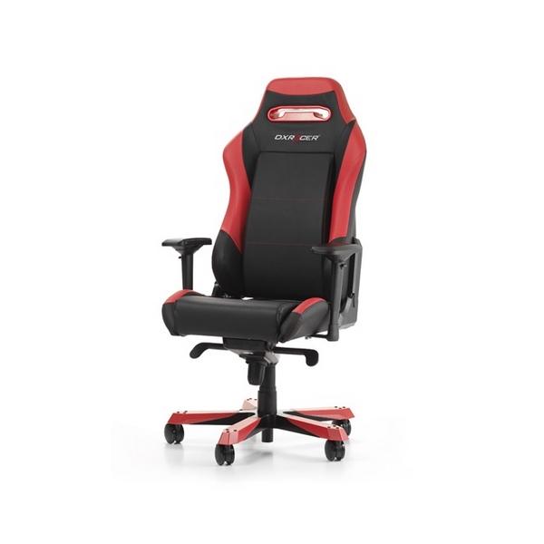 Геймерское кресло DXRacer D-серия OH/IS11/NR/NB Высокопрочный пластик Черно-красный