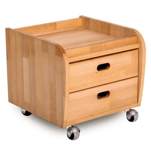 Тумба Абсолют-мебель Ящичный блок тумба на роликовых резиновых опорах С100 цены
