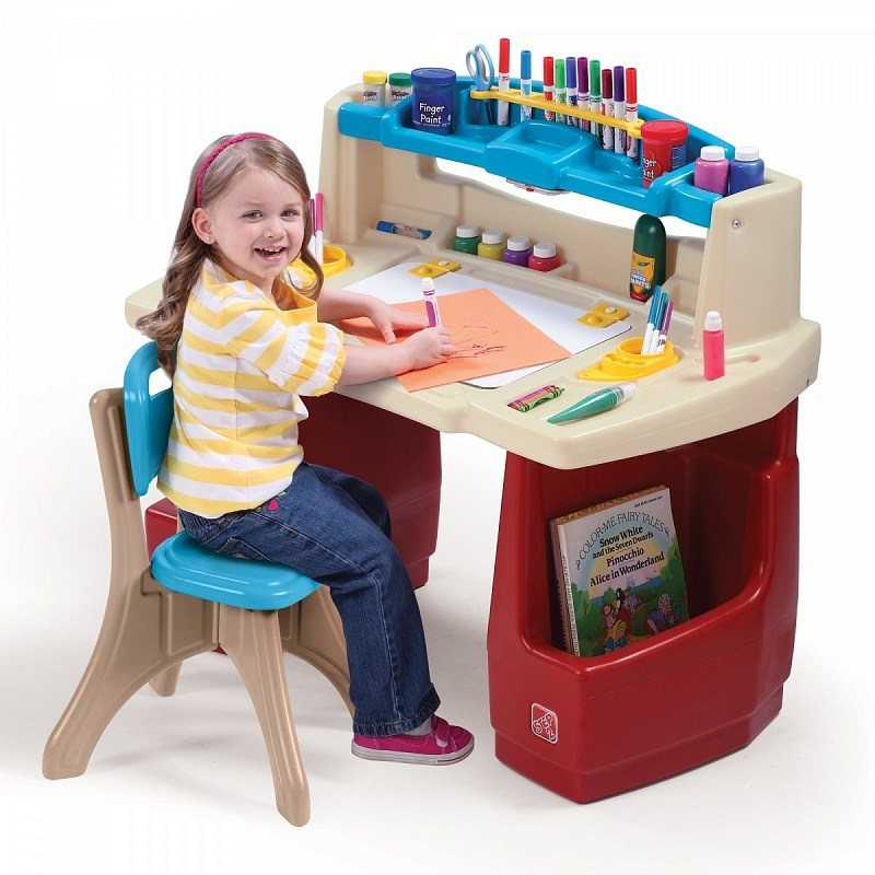 Игровые комплексы Step 2 Step 2 Столик для занятий Пластик Смешанный