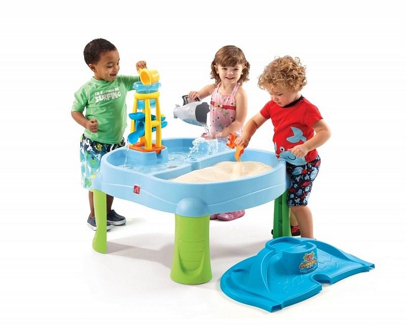 игровые центры для малышей b kids развивающий столик Игровые комплексы Step 2 Step 2 Столик для игр Водопад Пластик Смешанный