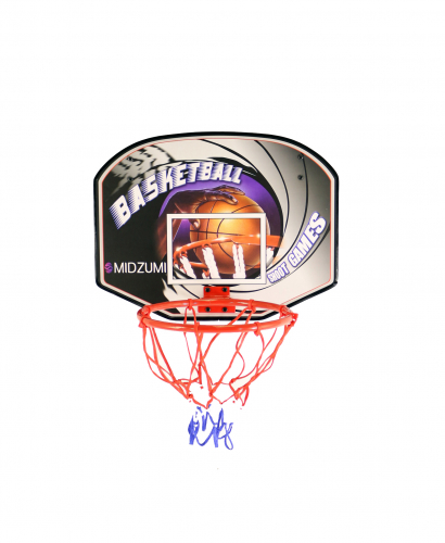 Щит баскетбольный с мячом и насосом Midzumi баскетбольный щит с кольцом dfc для батутов kengo