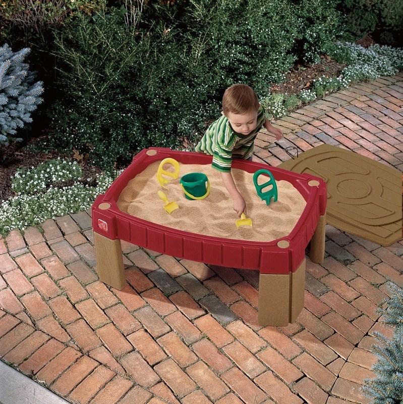 Игровые комплексы Step 2 Step 2 Стол для игры с песком Step 2 Пластик Смешанный недорого