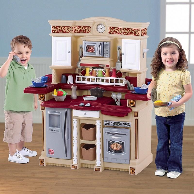 Фото - Игровые комплексы Step 2 Step 2 Кухня для вечеринок Пластик Коричневый кухня виктория 3000