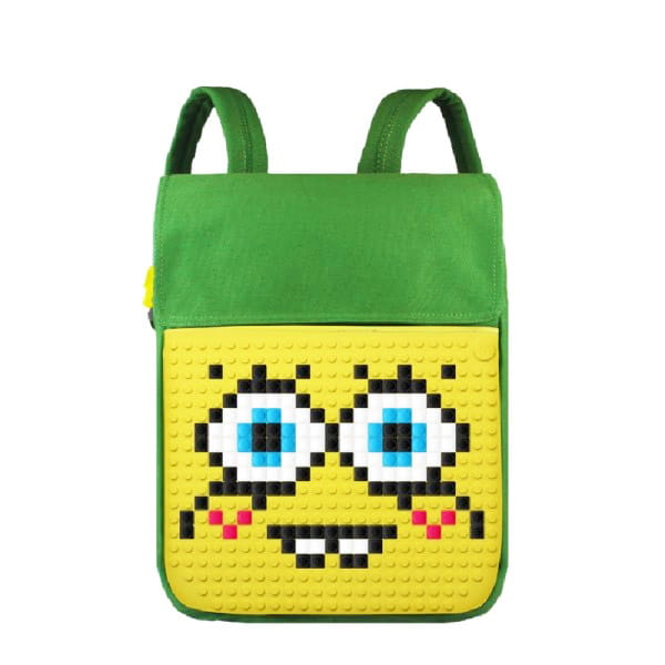 Рюкзаки и ранцы Upixel Canvas Top Lid pixel Backpack Полиэстер Зеленый