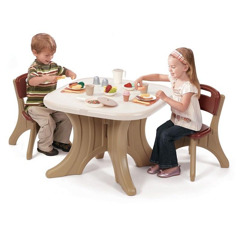 Игровые комплексы Step 2 Step 2 Столик со стульями Пластик Коричневый
