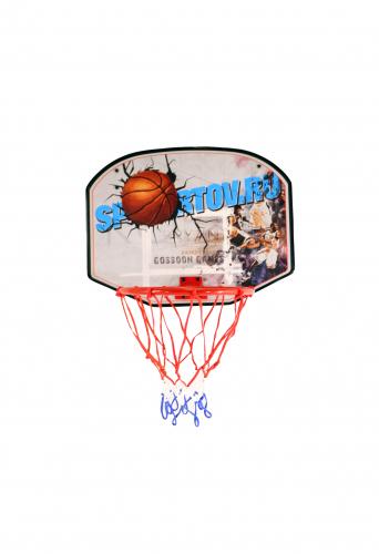 Щит баскетбольный с мячом и насосом Sportov баскетбольный щит с кольцом dfc для батутов kengo