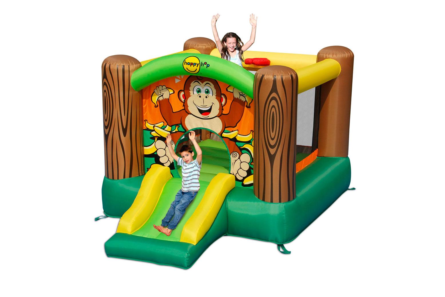 Надувной комплекс Happy Hop 9201G Дружба ПВХ Смешанный цена 2017