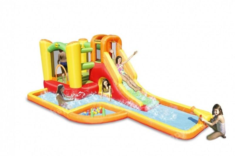 Happy Hop Водный Батут с бассейном HAPPY HOP 9281
