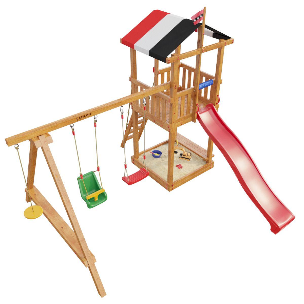 Детская игровая площадка Самсон Амстердам 2017 Массив дерева Сосна