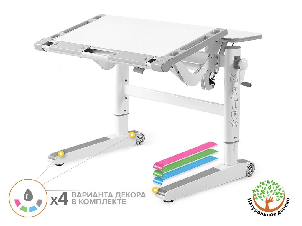 Детский стол Mealux ErgoWood L Multicolor
