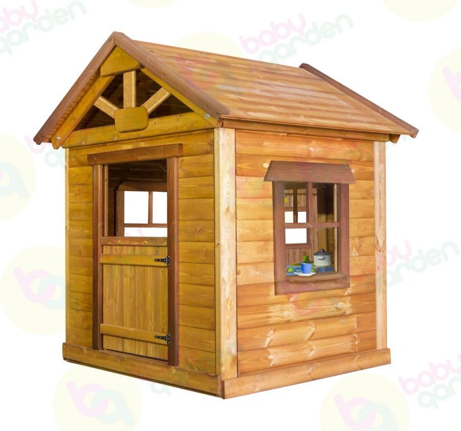 Детский игровой домик из дерева Babygarden Игровой Массив Сосна