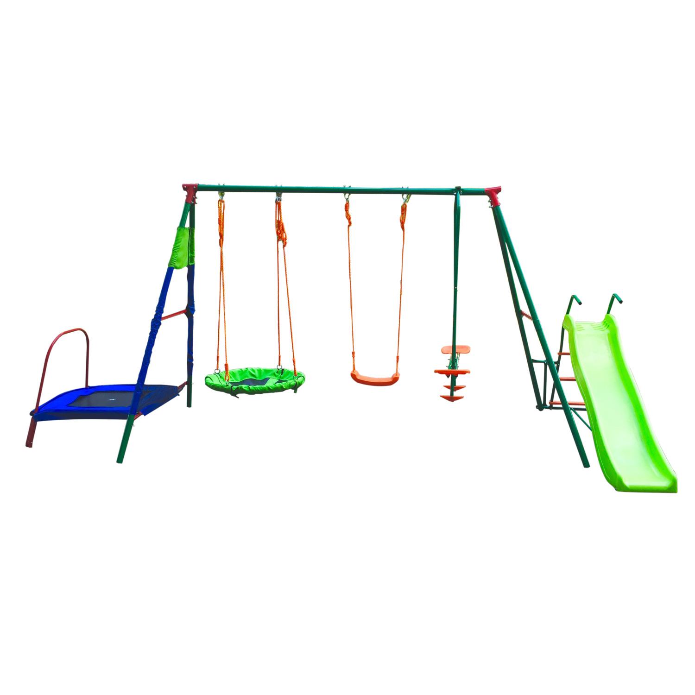 Качели детские подвесные DFC MTS-01 Металл Зеленый