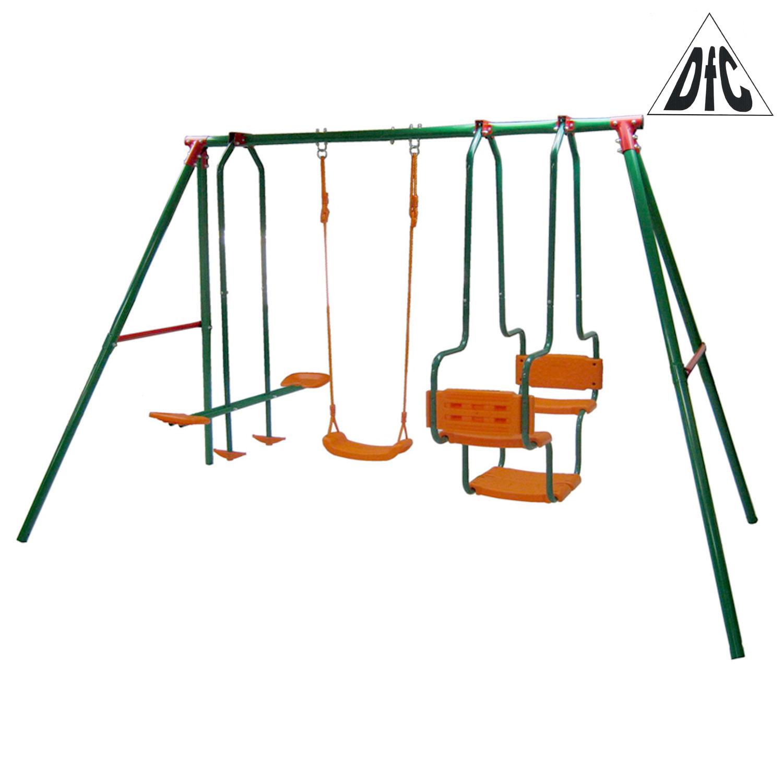 цена на Качели детские подвесные DFC SGL-01 Металл Зеленый