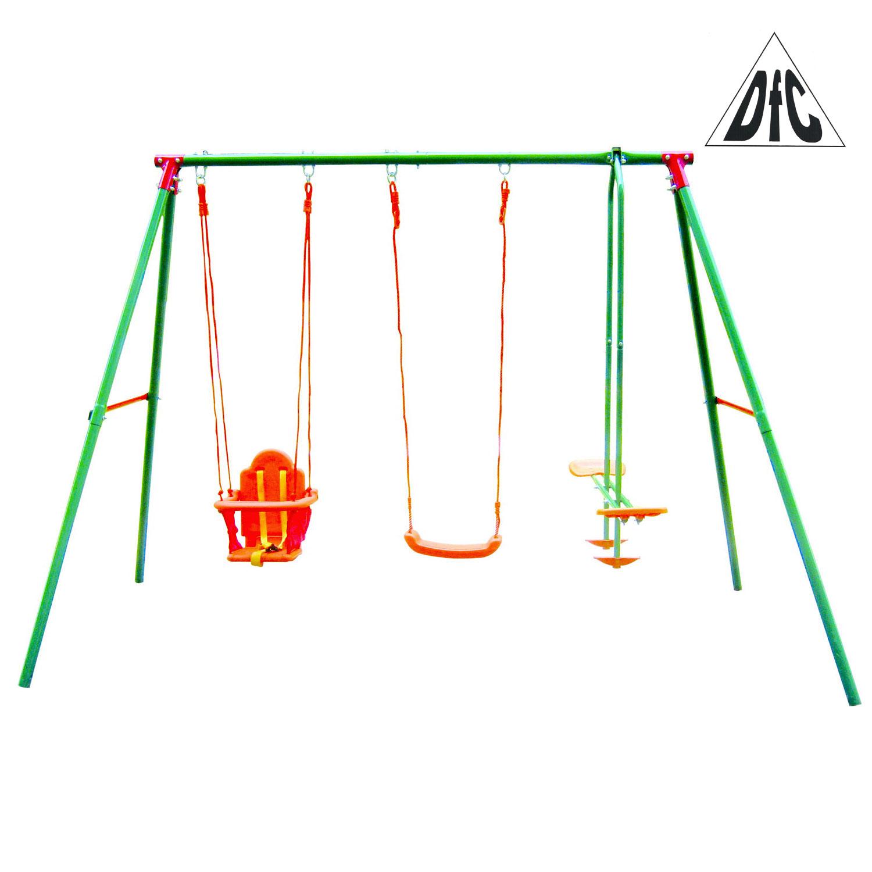 цена на Качели детские подвесные DFC SGN-03 Металл Зеленый