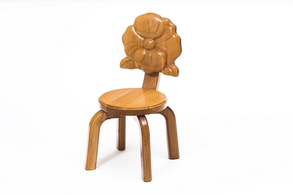 Polli Tolli Детский стульчик Буковка Мак 09483