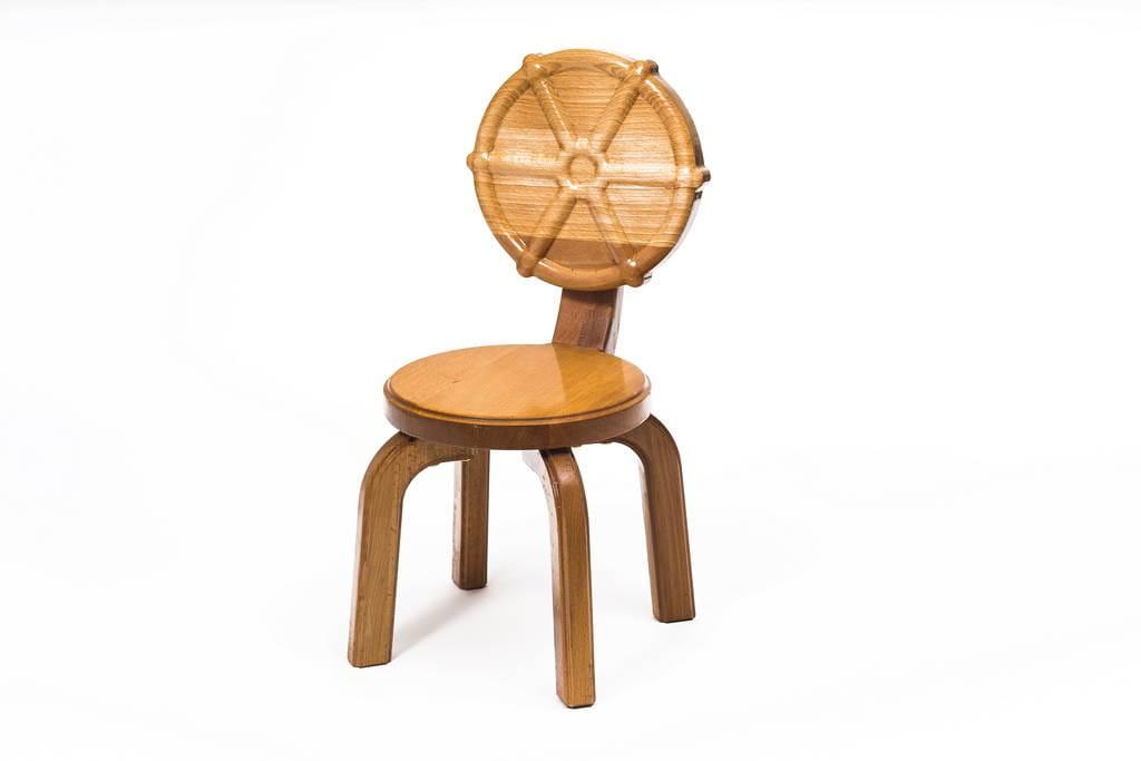 Polli Tolli Детский стульчик Буковка Штурвал 09480