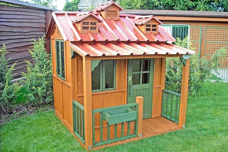 Детский игровой домик из дерева PlayNation Гномик Массив дерева Сосна