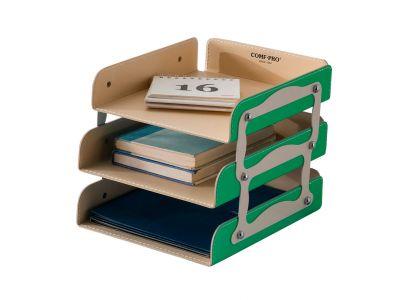 Аксессуары для парт Comf-pro Лоток для бумаг KS-05 Зеленый чехлы для кресел comf pro match newton kd 2