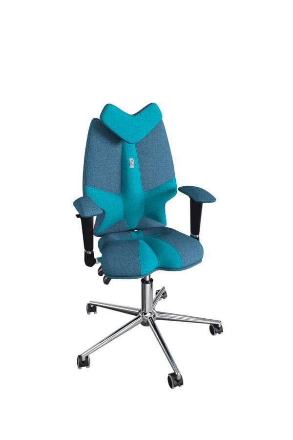 Кресло Kulik System Детское кресло Kulik Fly (материал Азур, отделка Duo Color)