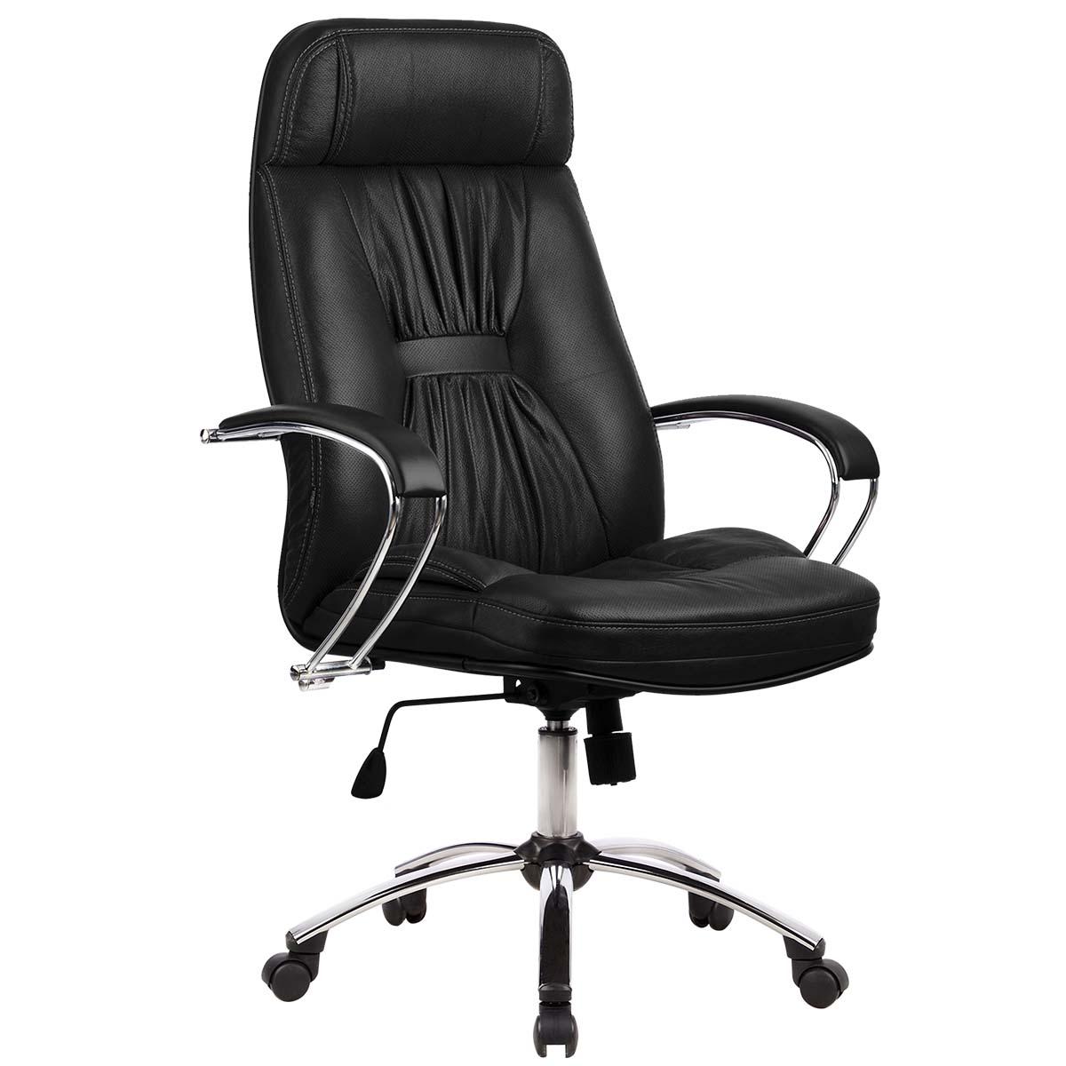 Фото - Офисное кресло Metta LK-7 Pl Ткань и эко-кожа Черный имидж мастер парикмахерское кресло версаль гидравлика пятилучье хром 49 цветов небесный 4