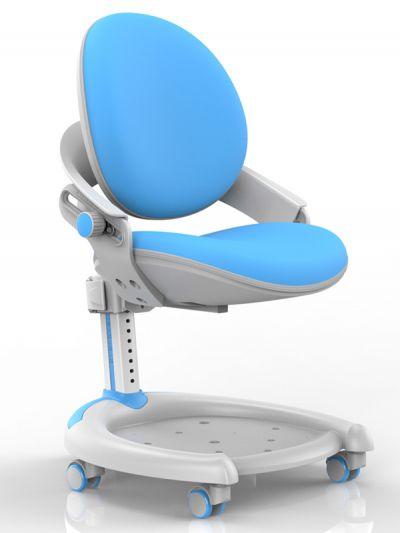 Комплект Mealux Стол Detroit с креслом ZMAX-15 Plus и прозрачной накладкой на парту 65х45