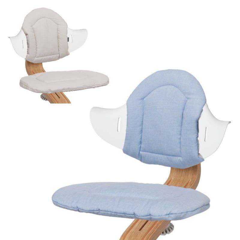 Двусторонние мягкие чехлы Nomi Cushion evomove стульчик для кормления evomove nomi highchair