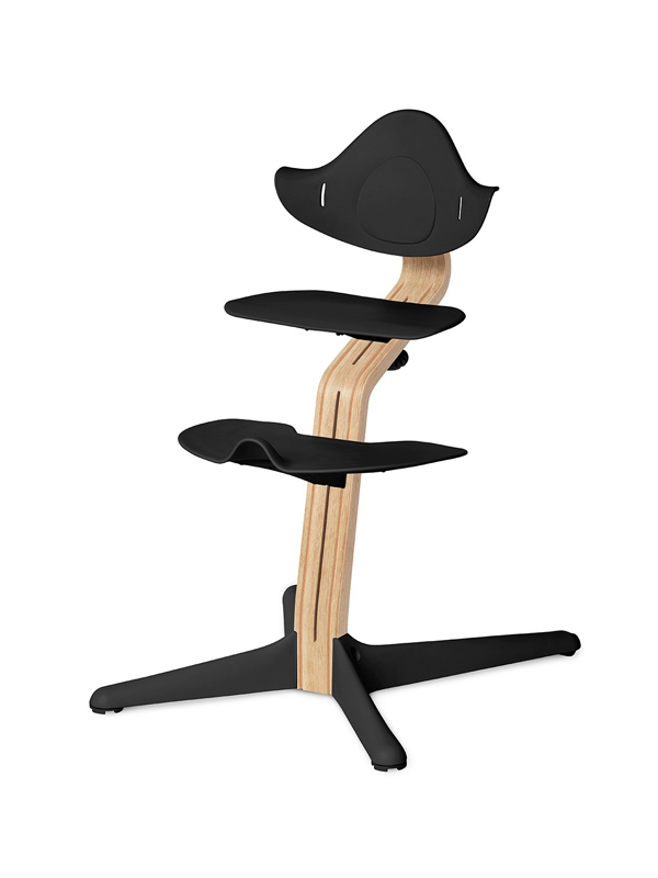 Купить со скидкой Детский регулируемый стул NOMI Черный Белый