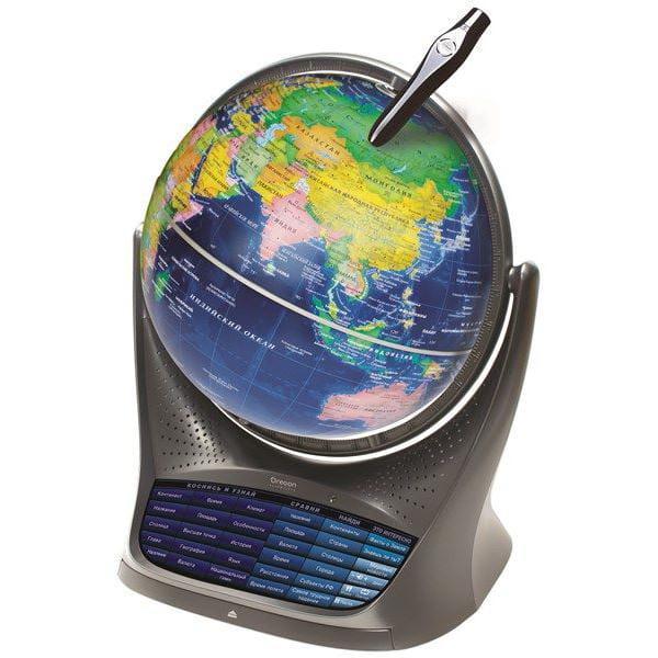 Интерактивный обучающий глобус с голосовой поддержкой Smart Globe 3 SG18 глобус oregon scientific sg18 11 звездное небо интерактивный