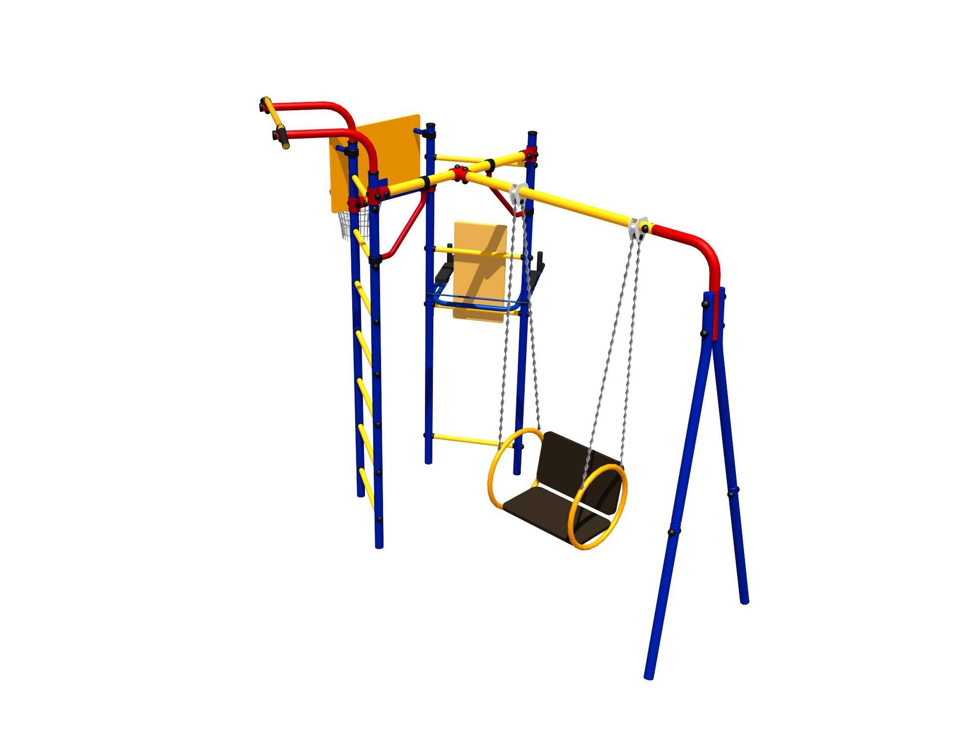 Уличный спортивный комплекс СК-3.3.14.28 регулируемая скамья kraft fitness kffiuby
