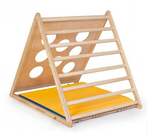 Детский игровой комплекс KidWood Треугольник Массив дерева Береза