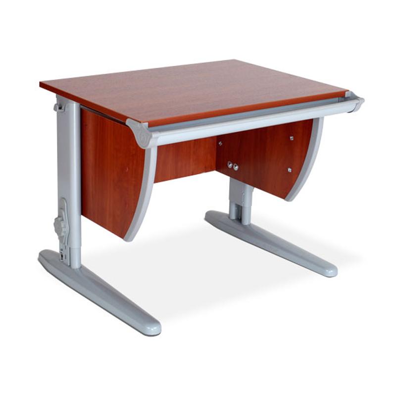 Стол для школьника Дэми СУТ-13 ЛДСП Яблоня Серый школьные парты дэми стол универсальный трансформируемый сут 24 столешница белая