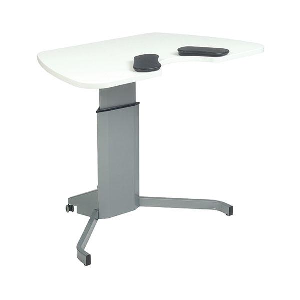 Трансформируемый компьютерный стол Salli COMPACT МДФ Белый Серый