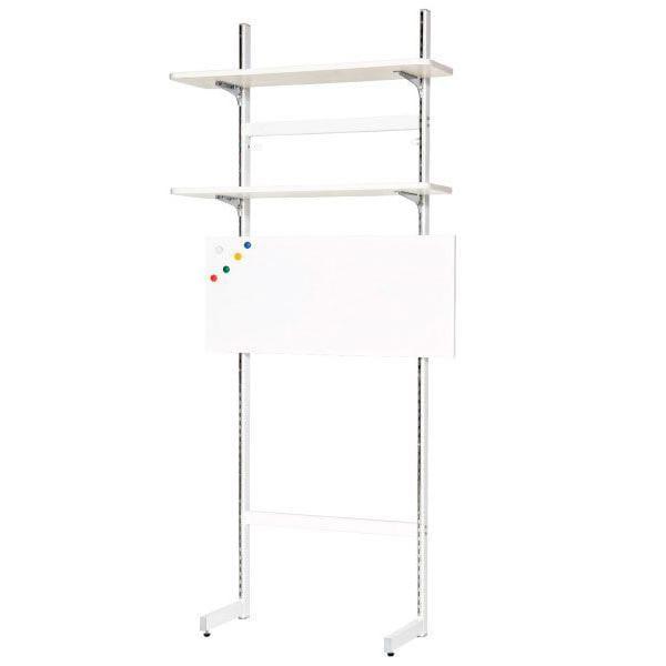 Шкафы и стеллажи Астек Стеллаж Астек П5 100 см металлический Металл Белый Белый