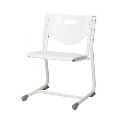 Комплект Астек Парта МОНО-2 с фронтальной приставкой и выдвижным органайзером со стулом SF-3 и прозрачной накладкой на парту 65х45