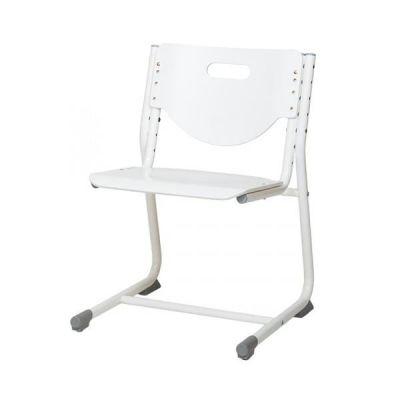Комплект Астек Парта ТВИН-2 с подвесной тумбой со стулом SF-3 и прозрачной накладкой на парту 65х45