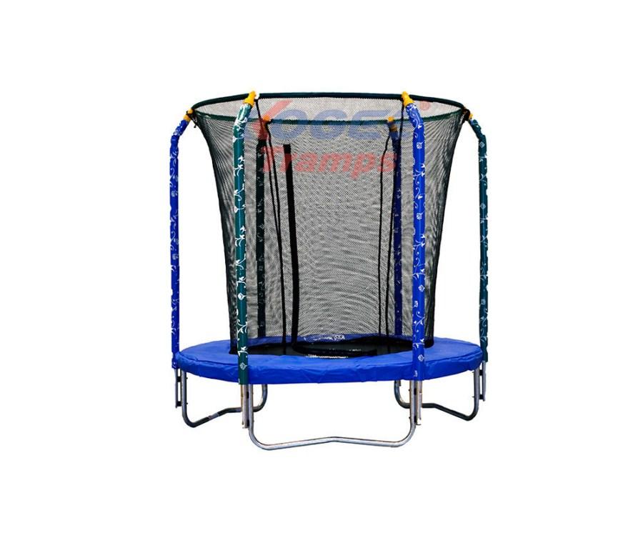 Батут детский Kogee-Tramps Металл Серый
