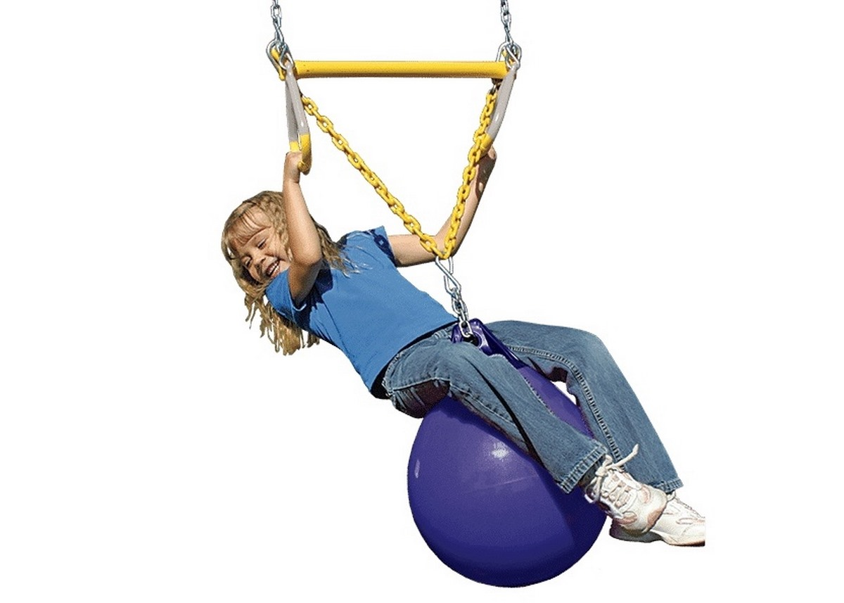 Rainbow Трапеция с синим мячем (Trapeze/Rings with Buoy Ball) camera tripod with ball head