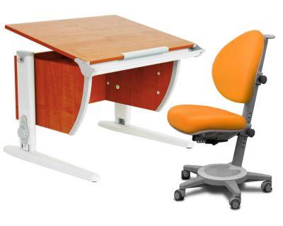 Комплект ДЭМИ Парта СУТ-14 75х55 см с креслом Cambridge и прозрачной накладкой на парту 65х45