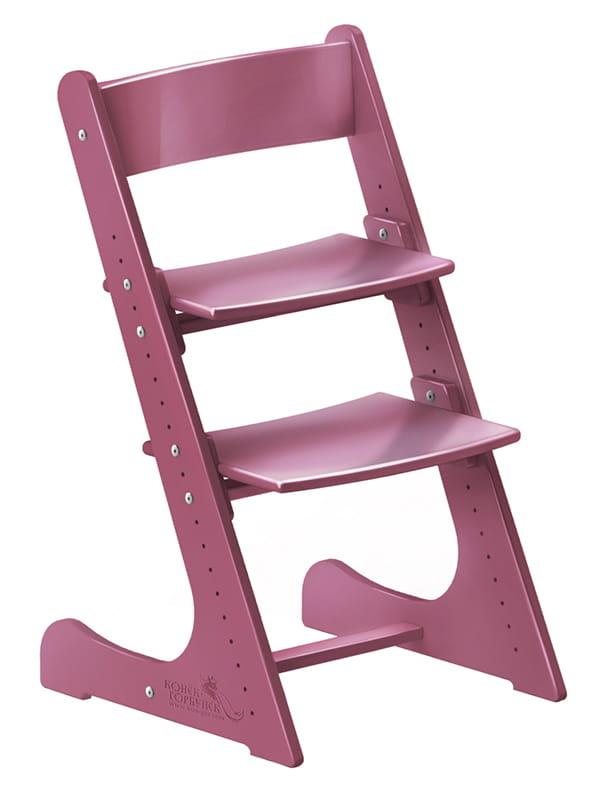 Детские стулья для письменного стола Конек Горбунек растущий Фанера Ягодный