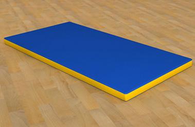 Мат гимнастический 1 х 2 м мат гимнастический zso 200x100x10 см тентовая ткань 630 без поролона