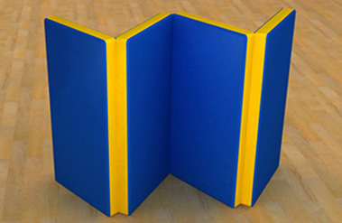 Мат гимнастический (складной) 1 х 2 м мат гимнастический zso 200x100x10 см тентовая ткань 630 без поролона