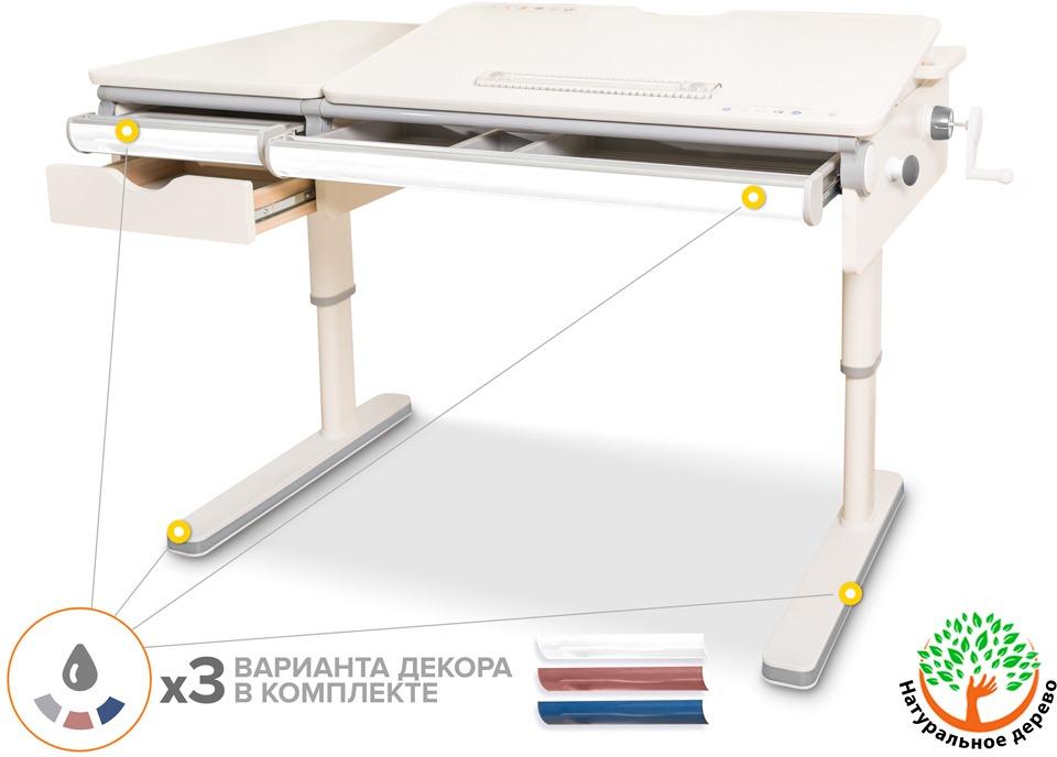 Детский стол Mealux Premium Montreal Multicolour Lite