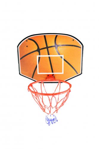 Щит баскетбольный с мячом и насосом баскетбольный щит с кольцом dfc для батутов kengo