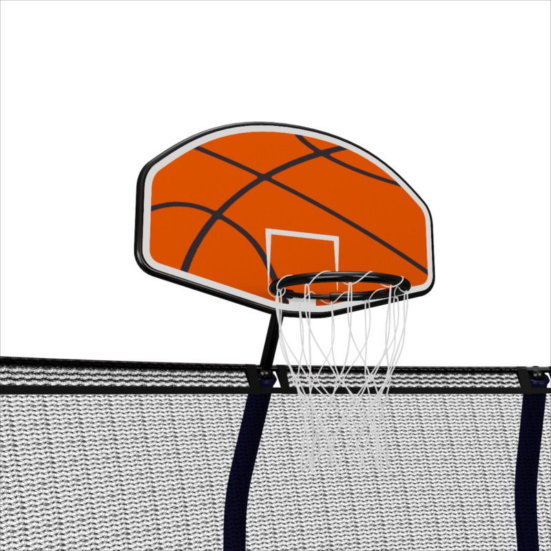 Дополнительный элемент Unix line Баскетбольный щит SUPREME МДФ Оранжевый